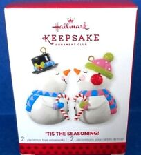 2013 Tis the Seasoning Hallmark Club Exclusive Retired Ornaments