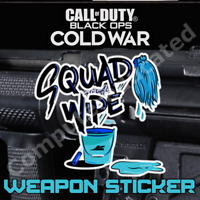 Weapon Sticker Squad Wipe Call of Duty Black Ops Cold War Warzone Item Code 🖌️