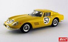 1:43 Ferrari 275 GTB4 n°57 Le Mans 1966 1/43 • BEST BEST9083