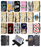 ALICE IN WONDERLAND Mad Hatter Wallet Flip Phone Case iPhone 4 5 6 7 8 Plus X