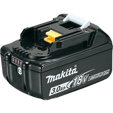 MAKITA BL1830B batteria originale 18v 3ah indicatore carica DHP481 DHP453 DHP482