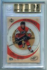 2005-06 UD ICE Ice Premieres Rookie SP 27/99  #104 Jeff Carter  BGS 9.5 3x10 1x9