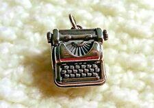 James Avery Sterling Silver Typewriter Bracelet Charm/Pendant, Rare & Retired