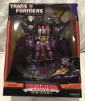 SDCC 2008 Hasbro Exclusive: Transformers - SKYWARP Titanium Diecast Figure, MIB