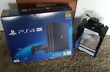 Playstation 4 pro ps 4 1 TB Konsole in OVP mit vielen Sachen dabei games usw.?