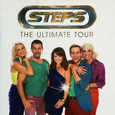 STEPS * THE ULTIMATE TOUR PROGRAMME * 2012 * HTF! * CLAIRE FAYE H LEE LISA