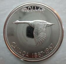 1967 Canada Silver Dollar Proof-Like Coin