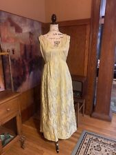 Vintage HAUTE COUTURE  Evening Gown Dress Park Ave Jewett Stunning