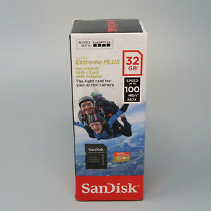 SanDisk Extreme Plus 32GB Micro SD Card Class 10, V30, A1, UHS-I SDHC