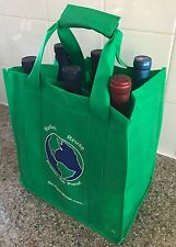 Reusable 6-Bottle Wine Bag - 4 Pack of Bags with Shipping