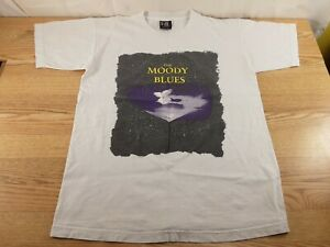 Vintage Moody Blues Graphic Giant Tour T-Shirt Size L See Pictures