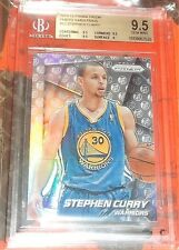 2014-15 Panini Prizm #12 Photo Variations Stephen Curry G Warriors BGS 9.5