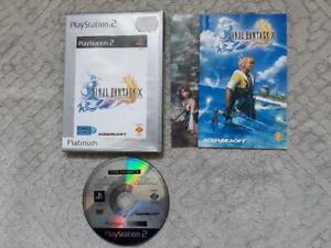 Final Fantasy X 10 Playstation PS2 PAL FR