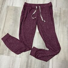 Justice Active Girls Joggers SZ 14 Heather Red Skinny Pocket Stretch Adjustable