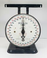 Vintage 1912 Scales People 60 lbs American Family Scales Black PARTS  USA