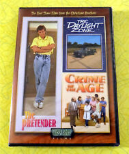 The Pretender/The Daylight Zone/Crime of the Age ~ New DVD Movie ~ Christiano