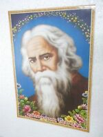 "RABINDRANATH TAGORE  Poster  unique nice INDIA famous personality 16""11"""