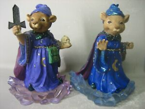 Pair Mystical Mice Collection The Fortune Tellers by Regency Fine Arts