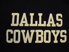Nfl Dallas Cowboys National Football League Fan Reebok Apparel Blue T Shirt L