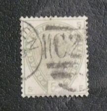 TIMBRES DE GRANDE BRETAGNE : 1883/84 YVERT N° 82 Oblitéré - FIVE PENCE VERT