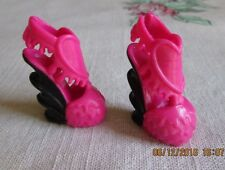 Monster High DRACULAURA Dot Dead Gorgeous SHOES PINK  ONLY