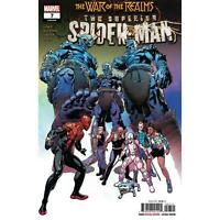 SUPERIOR SPIDER-MAN #7 WAR OF THE REALMS MARVEL COMICS 1ST PRINT