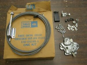 NOS OEM Ford 1967 1970 Trunk Release Kit Mustang Galaxie Torino Cougar 1968 1969