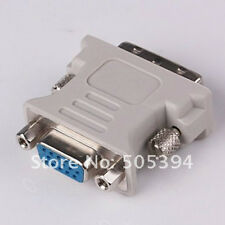 1PC DVI DVI-I (M) to VGA (F) video converter/adapter
