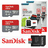 SanDisk Ultra Micro SD Card 16GB 32GB 64GB Class 10 SDHC SDXC Memory Card