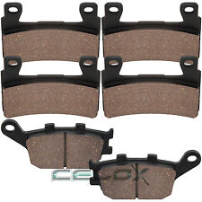 Front Rear Brake Pads For Honda CBR900RR Fireblade 900 1998-2003