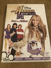 Hannah Montana One In 1 Million  -(DVD) Special Buy 3 Get 4th Movie Free !!