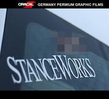 STANCE WORKS wheels JDM EURO DRIFT RACING Car vinyl Decal Sticker