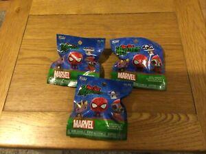 Funko Marvel Pint Size Heroes Mini Figure 3 Packs New Sealed