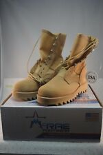 NEW McRAE Military Issue Boots - Desert Tan Ripple Outsole Boots Sz 6.5 Regular