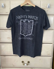 Game Of Thrones The Night's Watch T Shirt Small I Am The Sword in The Darkness