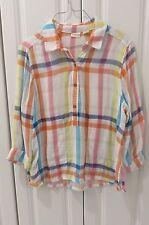 Westbound Women's Blouse Multi Color 3/4 Sleeve Size Medium