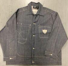 ROCAWEAR Mens Blue Denim Jean Jacket  NWOT  Size 2XL 2X 2 XL XXL  Mens Coat NEW