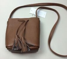 NWT Shaffer LA BoHo Festival Leather Greta Bucket Bag Rachel Zoe Box Of Style