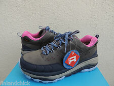 HOKA ONE ONE GREY/ PINK TOR SUMMIT WP HIKING BOOTS SHOES, US 8.5/ EUR 40 2/3 NEW