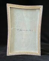 Tahari Enamel and Rhinestone Embellished 4.6 Portrait Photo Frame - NEW