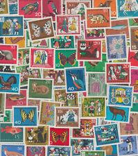 BRD, 50 verschiedene Wohlfahrtsmarken, nur Briefmarken mit Zuschlag postfrisch**