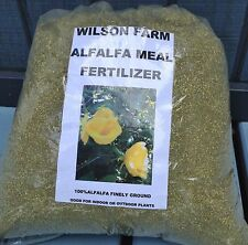 ALFALFA MEAL FERTILIZER GREAT FOR INDOOR OR OUTDOOR  PLANTS 3 POUND BAG