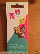 *OLYMPIC TORCH RELAY (JERSEY) PIN BADGE (15.07.2012) (OFFICIAL PRODUCT)*