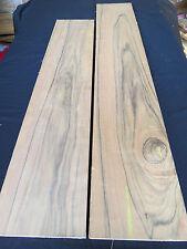 New Guinea Walnut wood lumber, kd (2 pcs)