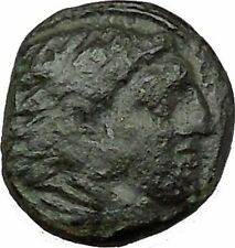 Alexander III the Great as Hercules 336BC Ancient Greek Coin Bow Club i39582