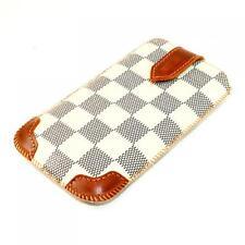 Luxus Handy Leder Tasche Sony Ericsson W8 / W395 / W995 / C903 Style Hülle Bag