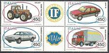 1984 ITALIA AUTO BLOCCO MNH ** - ED