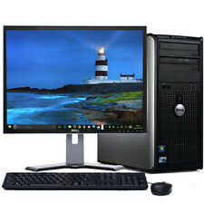 FAST Dell Optiplex Windows 10 Desktop Computer Tower C2D 4GB DVD WiFi 17