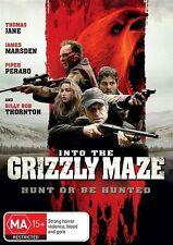 Into The Grizzly Maze (Dvd) Action, Horror, Thriller, James Marsden, Thomas Jane