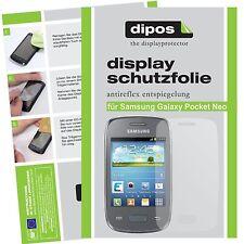 Samsung Galaxy Pocket Neo Schutzfolie matt Displayschutzfolie Folie dipos